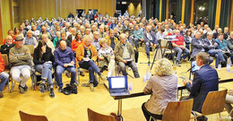 Bürgerversammlung zum Thema: Ausbau der A 49 und des Gewerbegebietes