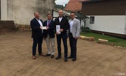 Im Rotenburger Haselgrund: Dankerode erhält einen neuen Dorfplatz