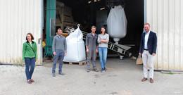 Erstes Öko-Kornhaus im Vogelsberg hat die Arbeit aufgenommen