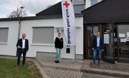 Coronavirus-Schnelltestzentrum in Mansbach eröffnet