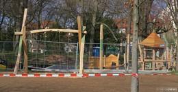 Neuer Spielplatz Hundeshagenanlage ist im Mai fertig - Spielgeräte bereits da