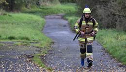 Der 'Running Firefighter' Holger Hüfner - Charity in Uniform