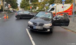 Verkehrsunfall in der Lindenstraße - Zwei Personen verletzt