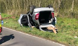 Crash mit zwei Autos in Kämmerzell - 78-Jährige verletzt