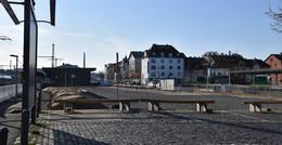 Stadt Fulda richtet Gelände der ehemaligen Güterhallen provisorisch her