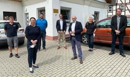 Besuch des Fraktionsvorsitzenden der Landtagsfraktion René Rock beim E-Werk