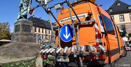 Stadt Fulda lässt Straßenzustand auf 370 Kilometern erfassen