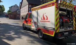 Feuerwehreinsatz in Heimertshausen: Rauchentwicklung
