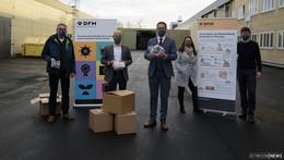 Hygieneschutz aus der Heimat: Landkreis kooperiert mit Masken-Hersteller