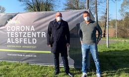 Neues Testcenter in Alsfeld eröffnet: Drive-In an sieben Tagen in der Woche