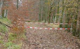 Wanderparkplatz Auersberg ab sofort gesperrt