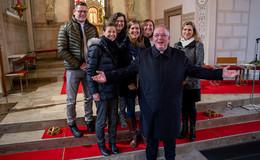 Statt vier Wochen: Ein viertel Jahrhundert Pfarrer Schneider in Haimbach