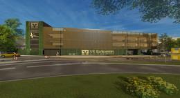 Einstiges Herkules-Center verwandelt sich in modernes Multifunktionsgebäude