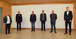Einvernehmliche Konstituierung der Gemeindevertretung Friedewald