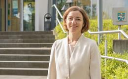 Regierungsdirektorin Dr. Anne Neidert verlässt das Polizeipräsidium Osthessen