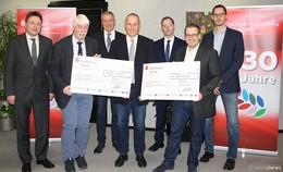 900 Euro Spende aus der Sportstiftung