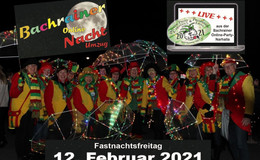 Fotoshow und Partymusik: Bachrainer Nachtumzug findet am Freitag online statt