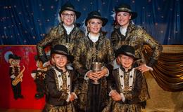 Närrisches Musketier-Trio Janina, Sabine und Diana von Mama-Manier