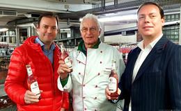 """Bio-Erfrischungsgetränk """"Mandelrose"""" kommt auf den Markt"""