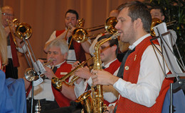 Trachtenkapelle Musikfreunde Weiperz begeisterte beim Konzert