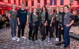 Bankett sinnreich begeistert im Schlosshof: Genuss mit nach Hause nehmen