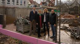 Bauarbeiten an Ernst-von-Harnack-Schule schreiten voran