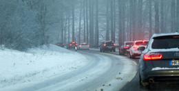 Nach Neuschnee: Verkehrschaos am Wochenende vorprogrammiert?