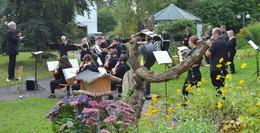 Open Air mit geballter Klangpower: Musikschule zu Gast im Mediana Wohnstift