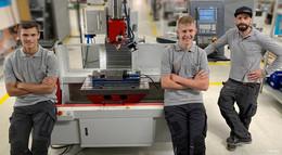 WASSERMANN TECHNOLOGIE GmbH begrüßt neue Auszubildende