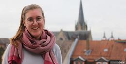 Herzlich, offen und fröhlich: Natascha Weigelt ist die neue Pfarrerin in Hilders