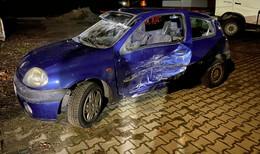 Frontal-Crash bei Ober-Ofleiden mit 3 Verletzten - 25-Jährige in Lebensgefahr