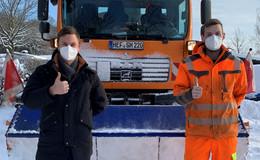 Winterdienst setzt Bauhöfe in diesen Tagen vor besondere Herausforderungen