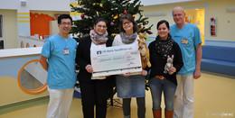 Förderverein Buchfinken spendet 1.500 Euro für die Kinderklinik Fulda