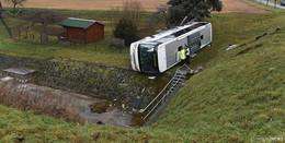 Busunglück in Thüringen: Die beiden Kinder waren nicht angeschnallt