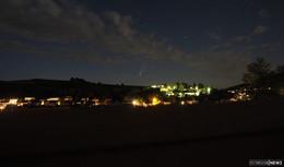 Eindrucksvolles Naturschauspiel am osthessischen Nachthimmel
