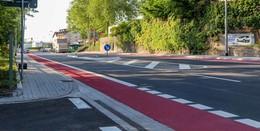 Endlich! Frankfurter Straße wieder frei: Erster Bauabschnitt abgeschlossen