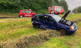 Crash auf der Fuldaer Straße bei Dorfborn: zwei Schwerverletzte