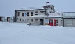 Wintereinbruch in Osthessen: Mehrere Zentimeter Schnee auf der Wasserkuppe