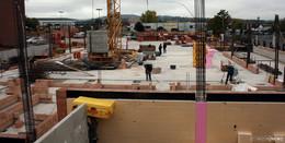 Raus aus der Enge: Grundstein für neuen Rewe-Markt ist gelegt
