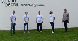 Schülerteam aus Bebra mit Verleih-Marktplatz Shary beim Online Bundesfinale