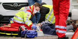 Heute Schüler, morgen Retter - angehende Notfallsanitäter im Dauereinsatz