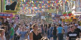 Vollsperrung der Ochsenwiese wegen Schützen- und Volksfest
