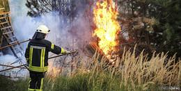 Waldbrand-Bilanz: Deutlich abfallende Zahlen in Osthessen außer in Fulda