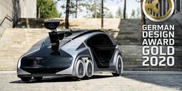 Edag Group gewinnt German Design Award in Gold für CityBot