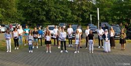 Im Autokino-Stil: Schule an der Wacherde verabschiedet Absolventen