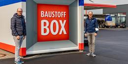Neue Leinweber-Baustoffbox in Dipperz: Rund um die Uhr Baustoffe abholen