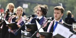 Ökumenischer Kirchentag: JugendKathedralChor bei Abschlussgottesdienst