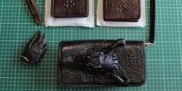 Krokodilfuß als Schlüsselanhänger - Über Geschmack lässt sich nicht streiten