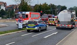 Tödlicher Unfall auf der Dippelstraße: Lkw-Fahrer erfasst Fußgängerin