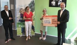 Tegut spendet 20.000 Euro für SOS-Kinderdorf Frankfurt